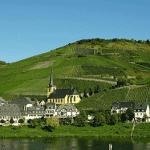 Duits wijnlandschap