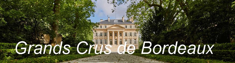 Grands Crus de Bordeaux