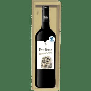 geschenkkist Petit Baron Rouge - 1 fles